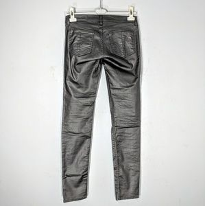 Rag & Bone Laminated 5-Pocket Skinny Jean